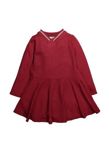 Zeyland Ribanalı Simli Kloş Elbise (12ay-4yaş) Ribanalı Simli Kloş Elbise (12ay-4yaş) Bordo